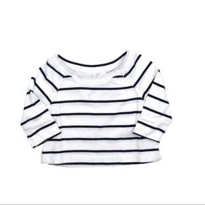 Cherokee Infant Girls Striped Top (NWT)